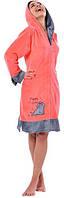 Халат ARYA Emily женский XXL 1351191 L, Коралловый