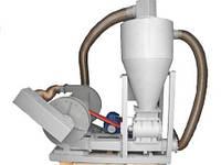 Пневмотранспортер, пневмоперегружатель зерна, крупы и сыпучих материалов