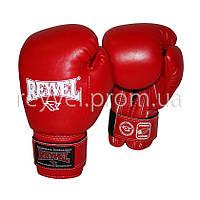 Боксерские перчатки REYVEL винил 12 oz
