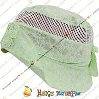 Панамки с сеткой для девочек (объём 50- 52 см) (vti155)