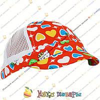 Детская кепка с сеточкой для малышей (объём 48 см) (vti161)