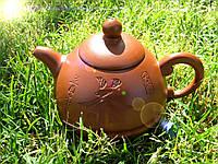 Чайник глиняный Бамбук 190 мл (исинская глина)