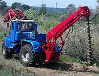 Бурильно крановая машина Т-150