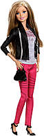 Кукла  Барби Модница делюкс оригинальная Barbie Style Doll, Black and Silver Jacket, фото 1