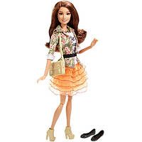 Кукла Барби Тереза Barbie Style Teresa Doll, Floral Jacket & Orange Ruffle Skirt
