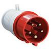Вилка ССИ-015 переносная 3P+PE+N 16А 380В IP44