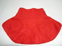 Манишка детская красная