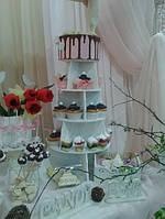 Подставка для торта, кексов, маффинов, капкейков заготовка для декора