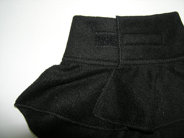 Шарфик - горлышко черный
