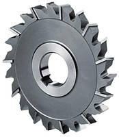 Фреза дисковая 3-хстор. разнонаправ. зуб 63х5,0 мм, Р6М5