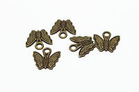 Бабочки бижутерные Антик (старое золото)