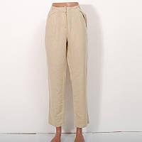 Женские брюки - чиносы из коттона