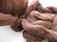 Австралийская мериносовая шерсть для валяния.  18 микрон.  6 грамм