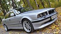 """Накладка на передний бампер БМВ Е34 """"АС Schnitzer"""", Юбка передняя BMW E34"""