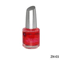 Средство для укрепления и ремонта ногтей ZN-03 - 18 мл (Светло-красный),