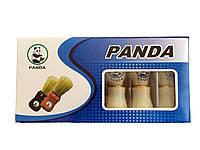 Помазок для бритья Panda с белым ворсом №8, фото 1
