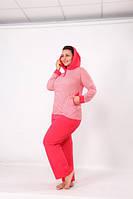 SXN Спортивный костюм  женский  батальный 12037