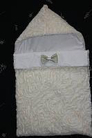 Зимний конверт для новорожденного мальчика