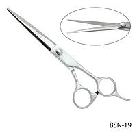"""Ножницы парикмахерские BSN-19 - для стрижки, эргономичной формы, размер: 6,4"""""""