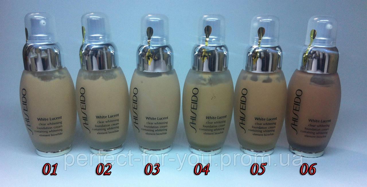 Тональный крем Shiseido White Lucent (Шисейдо ) 75 ml - Парфюмерия и косметика - Perfect-for-you в Харькове