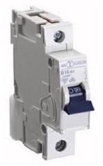 Автоматический выключатель автомат 63 A ампер Германия однополюсный однофазный В B характеристика цена купить