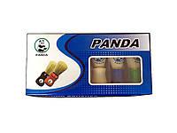 Помазок бритвенный Panda большой с белым ворсом, разные цвета, №7