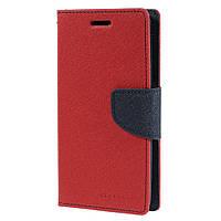 Чехол книжка Mercury Goospery Fancy Diary для LG Spirit Y70 H422 Red