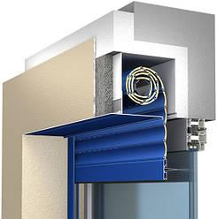 Монтаж роллетной системы со встроенным коробом серии SB-I/m
