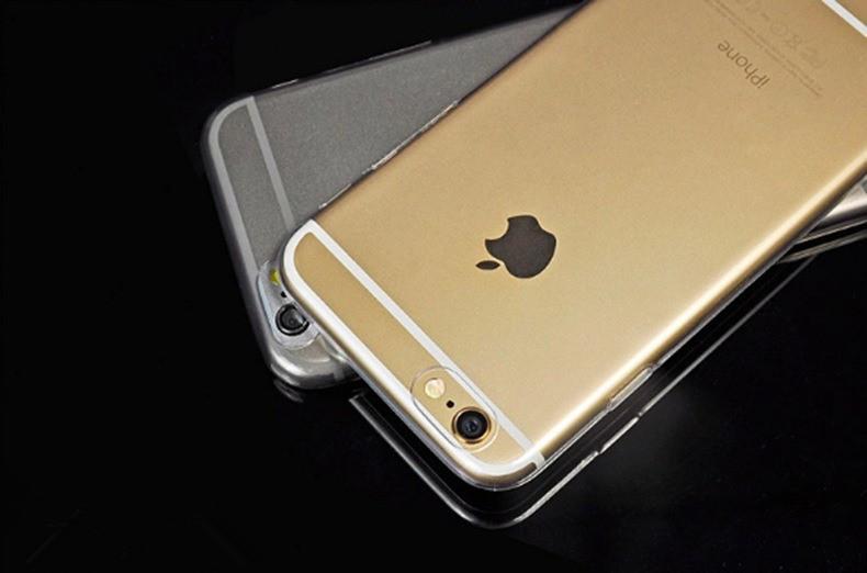 Силиконовый ультратонкий чехол для iPhone 6 6S бампер