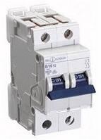 Автоматичний вимикач автомат 1 A ампер 6kA Німеччина двухфазний двухполюсний С C характер ціна купити, фото 1