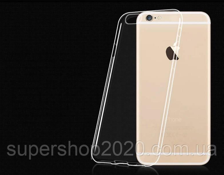 Силіконовий ультратонкий чохол для iPhone 6 Plus