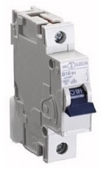 Автоматичний вимикач автомат 10 A ампер 6kA Німеччина однополюсний фазний C C характеристика ціна купити