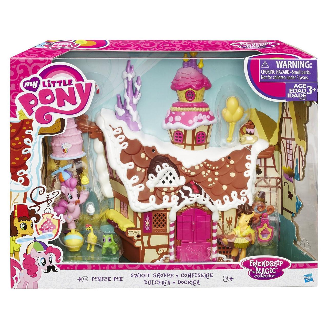 Пони игровой набор пряничный домик Пинки Пай  Май литл пони  My Little Pony Hasbro B3594