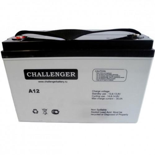 Аккумулятор AGM - 40 Ач, 12В гелевый Challenger A12-40