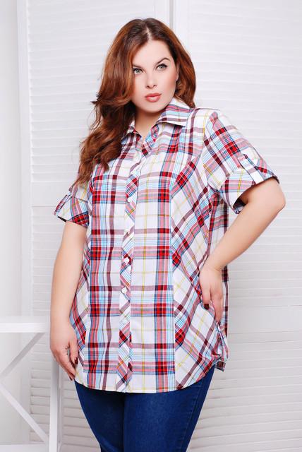 Блузы и рубашки женские баталы