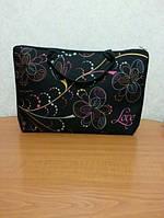 Оригинальная женская сумка-саквояж