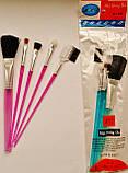 Набор кисточек для макияжа, 5 шт/уп., фото 2
