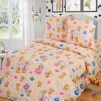 Сменный постельный комплект в кроватку «Мишенята», Top Dreams