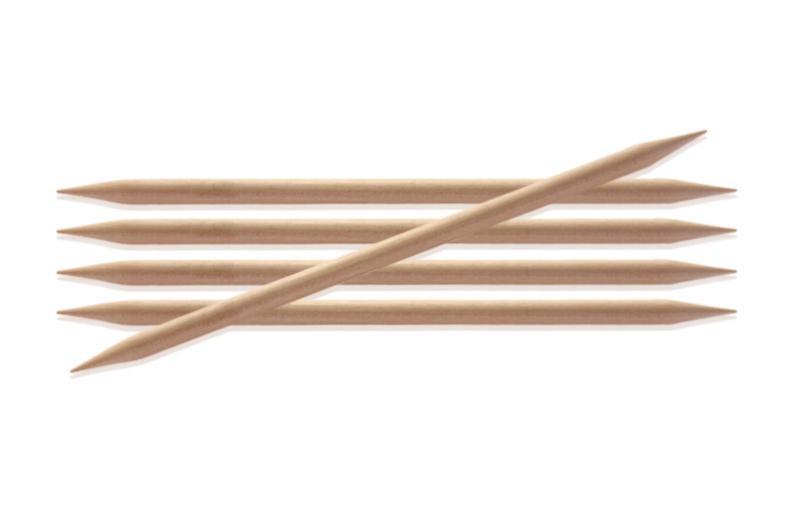 Спиці шкарпеткові 20 см Basix Birch Wood KnitPro 6,50 мм