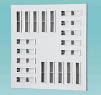 Вихревые квадратные диффузоры ДВП 1 595, Вентс, Украина