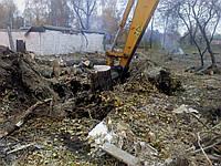 Выкорчевка деревьев Уборка пней