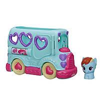 """Пони игрушка из м/ф """"мой маленький пони"""" автобус Рейнбоудэш  My Little Pony"""