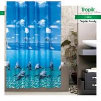 Штора для душа Tropik Dolphin Family BS8852
