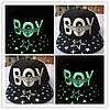 Кепка светящаяся черная  BOY, фото 2