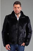 Пиджак из меха бобра, длина 75 см