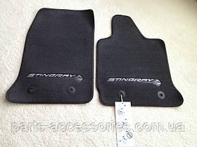 Chevrolet Corvette C7 2014-17 коврики велюровые Stingray новые оригинал