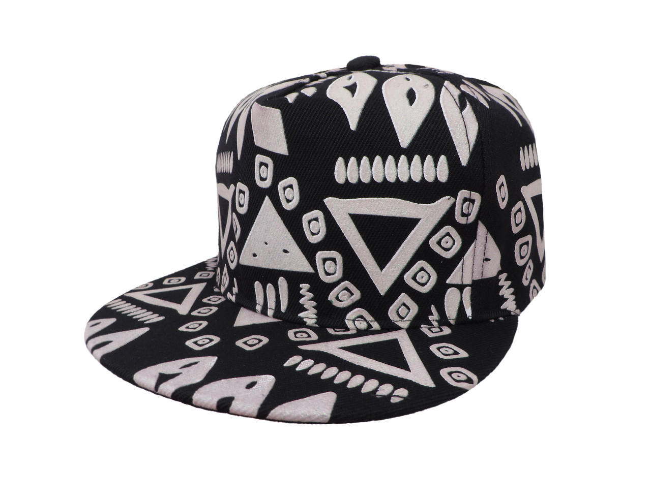 Cветящаяся черная кепка