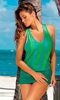 Яркое пляжное платье М366