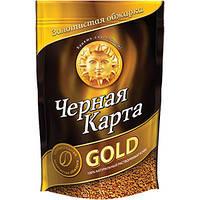 Кофе растворимый Черная Карта голд 130 г м/у