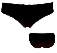 """Трусики мини бикини женские """"Ego"""" KLW 130 ( 2 шт в уп) Must Have цвет чёрный"""